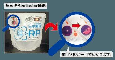 蒸気抜きIndicator機能について